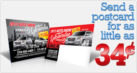 6 Postcard Printing Full Color Direct Mail