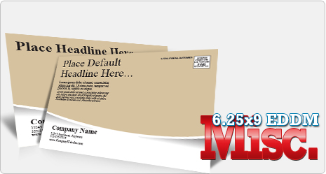 Create Every Door Direct Mail Template