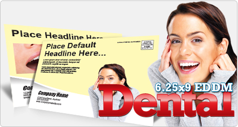 Example of Dental Office EDDM Postcard