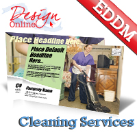 Cleaning Services EDDM® Templates