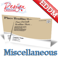 EDDM® Postcard Template Miscellaneous