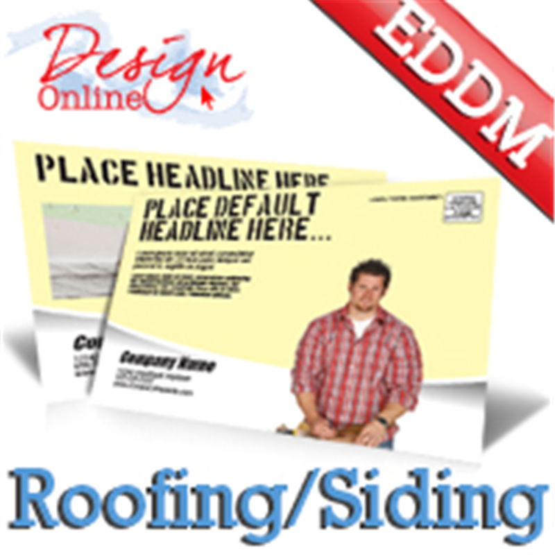 Roofing And Siding EDDM Templates - Direct mail flyer template