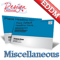 EDDM Postcard Template Miscellaneous