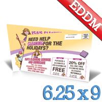 6-25x9 EDDM Postcard Printing