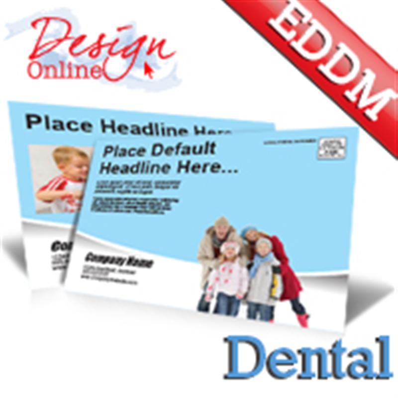 dental office every door direct mail eddm postcard templates. Black Bedroom Furniture Sets. Home Design Ideas